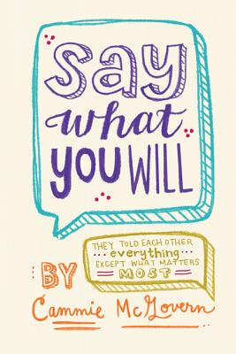 Say What You Will By McGovern, Cammie